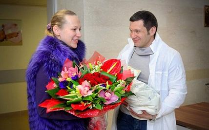 владимир соловьёв жена фото