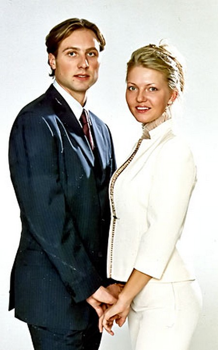 александр морозов фото с женой