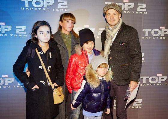 дружинин егор фото с семьей